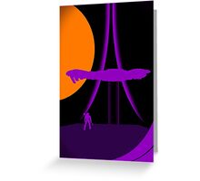 Under Cover of Night Greeting Card