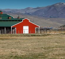 Barn Style building in Utah by Alan Mitchell