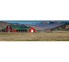 Barn Style building in Utah Photographic Print