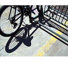 Bike Parking Photographic Print
