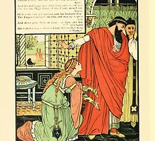Cinderella Picture Book containing Cinderella, Puss in Boots, and Valentine and Orson Illustrated by Walter Crane 1911 42 - Emperor and Man of Might by wetdryvac
