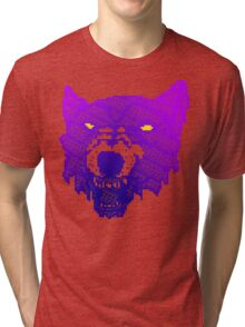 You're Dead Meat! (Purple Lightside) Tri-blend T-Shirt