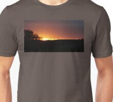 Turbine Sunset  Unisex T-Shirt