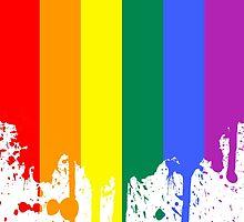 Rainbow Flag by Emir Simsek