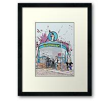 Arctic Monkeys at The Boardwalk  Framed Print