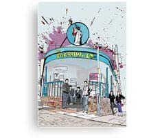 Arctic Monkeys at The Boardwalk  Canvas Print