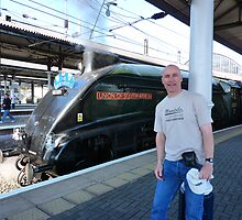 Union of South Africa:Newcastle central station. by Onions