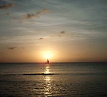 Sunset In St Lucia by pixiebell73