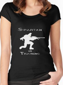 Spartan In Training Women's Fitted Scoop T-Shirt