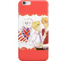 Alfred and Arthur <3 iPhone Case/Skin