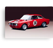 1965 Alpha Romeo GTA Canvas Print