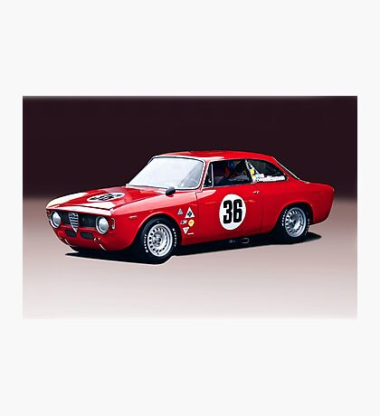1965 Alpha Romeo GTA Photographic Print