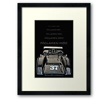 1969 McLaren M8C Framed Print