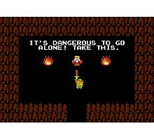 Legend of Zelda: Take this! Photographic Print