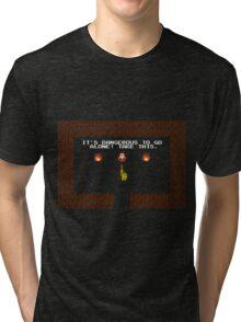 Legend of Zelda: Take this! Tri-blend T-Shirt