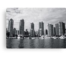 Water Scrapers Canvas Print