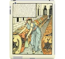 The Forty Thieves by Walter Crane 1898 15 - And So Defeated Them A Second Time iPad Case/Skin
