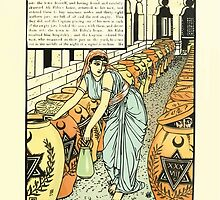 The Forty Thieves by Walter Crane 1898 15 - And So Defeated Them A Second Time by wetdryvac