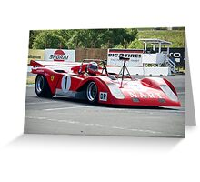 1971 Ferrari 312 P Sparling I Greeting Card