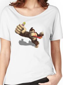 Donkey King-Kong Women's Relaxed Fit T-Shirt