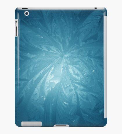 Cool Blue ice iPad Case/Skin