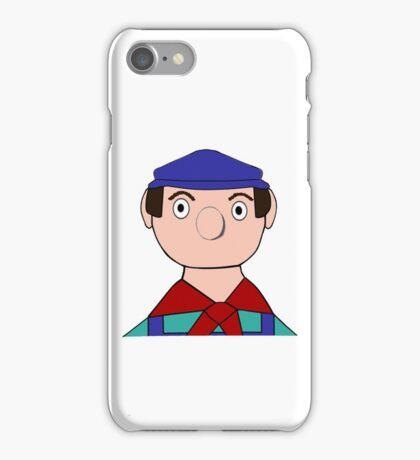 Mr Crockett the Garage Owner iPhone Case/Skin