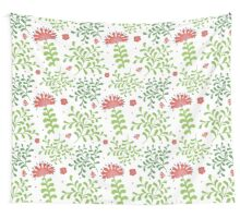 Elegance Seamless pattern with flowers, vector floral illustration in vintage style Wall Tapestry