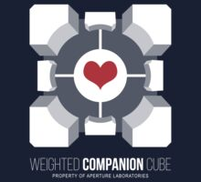 Weighted Companion Cube Loves You by AlisterCat