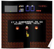 Legend of Zelda: Take this! (Full) Poster
