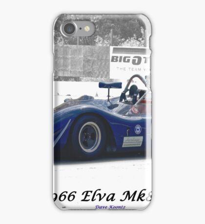 1966 Elva MK8 SR II iPhone Case/Skin