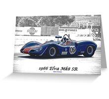 1966 Elva MK8 SR II Greeting Card
