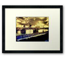Thames Embankment Framed Print