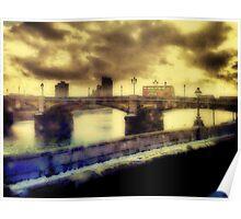 Thames Embankment Poster