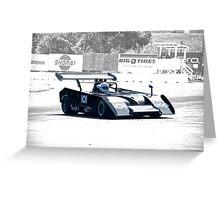 1972 Shadow MKIII Can Am II Greeting Card