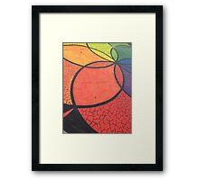 Rainbow Mandala I Framed Print