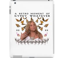 Mariah Carey 'A Retro Moment of Gypsy Whatever' Print iPad Case/Skin