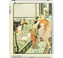 The Forty Thieves by Walter Crane 1898 7 - Open Sesame iPad Case/Skin