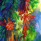 Firecracker Vine (Pyrostegia): a Thai flower. by Maureen Whittaker