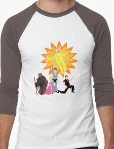 Dayman, Ahhhahhhhahhhhh! Men's Baseball ¾ T-Shirt
