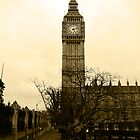 Westminster Big Ben by woodgag
