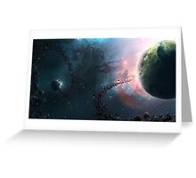 Space - Planet Greeting Card