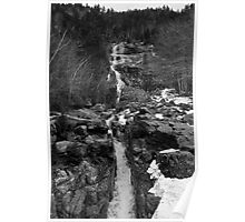 White Moutains Waterfall Poster