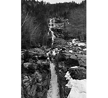 White Moutains Waterfall Photographic Print