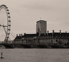 London Eye by woodgag