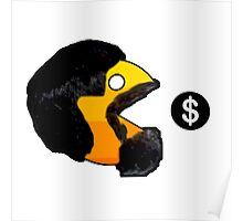 Pacman Money Poster