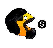 Pacman Money Photographic Print