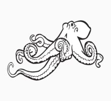 Octopus Ink Drawing by tshirtdesign