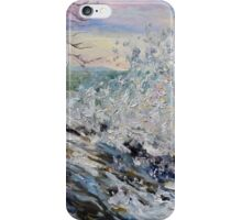 West Coast Early Evening Winter Sea iPhone Case/Skin