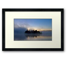 Algonquin Park - Lake of Two Rivers Framed Print