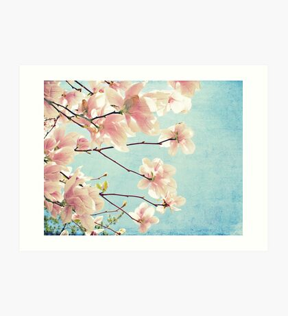 Cotton Candy Spring Art Print
